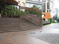 Лестница из гранита в Харькове