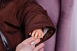 Детский мешок для новорожденных Sky коричневый, фото 6