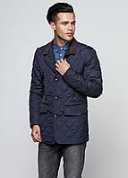 Мужская демисезонная куртка Man's Wear (50) темно-синяя K-48