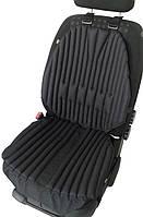 Ортопедическиебио подушки-накидки EKKOSEAT на автомобильное кресло. Черная.
