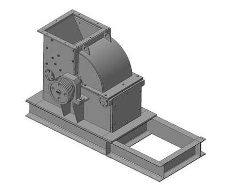 Дробилка молотковая нереверсивная ДМ-13х11