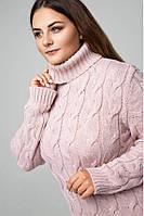 """Вязаное красивое платье """"Ангелина"""", размер 48-56"""