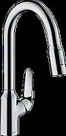 Змішувач для кухні з висувним виливом HANSGROHE M429-H220