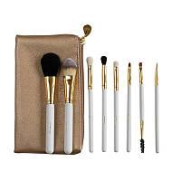 Подарок к Рождеству Набор кистей для макияжа DUcare Beauty Pro Brush Set with Bag - 8pc
