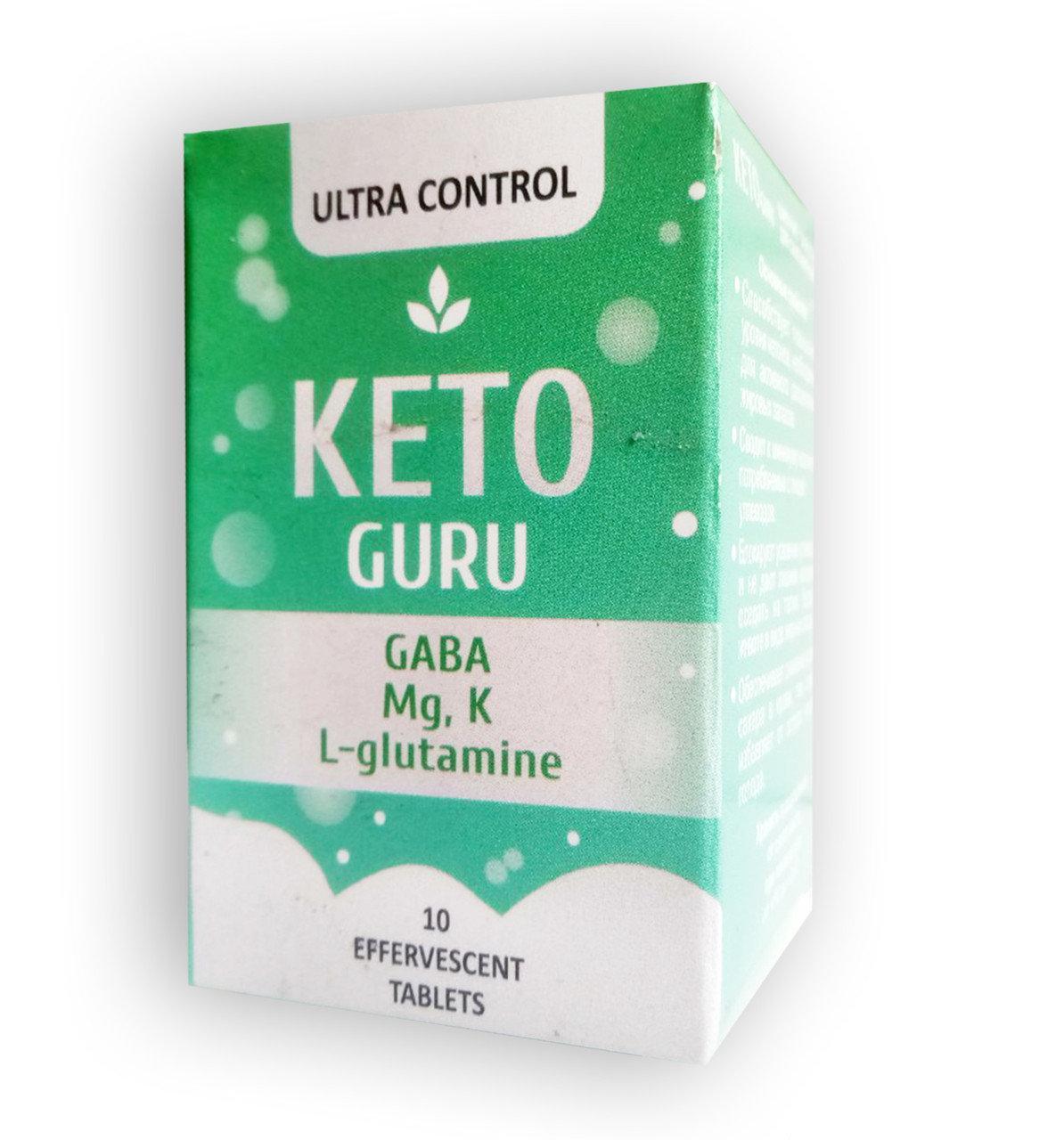 Keto Guru шипучие таблетки для похудения Кето Гуру ViP