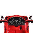 Дитячий електромобіль M 4115 EBLR-4, Lamborghini Aventador, EVA гума, шкіряне сидіння, синій, фото 6