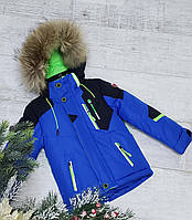 Зимняя куртка на 8915 а 100% холлофайбере размеры от 98 см до 122 см рост