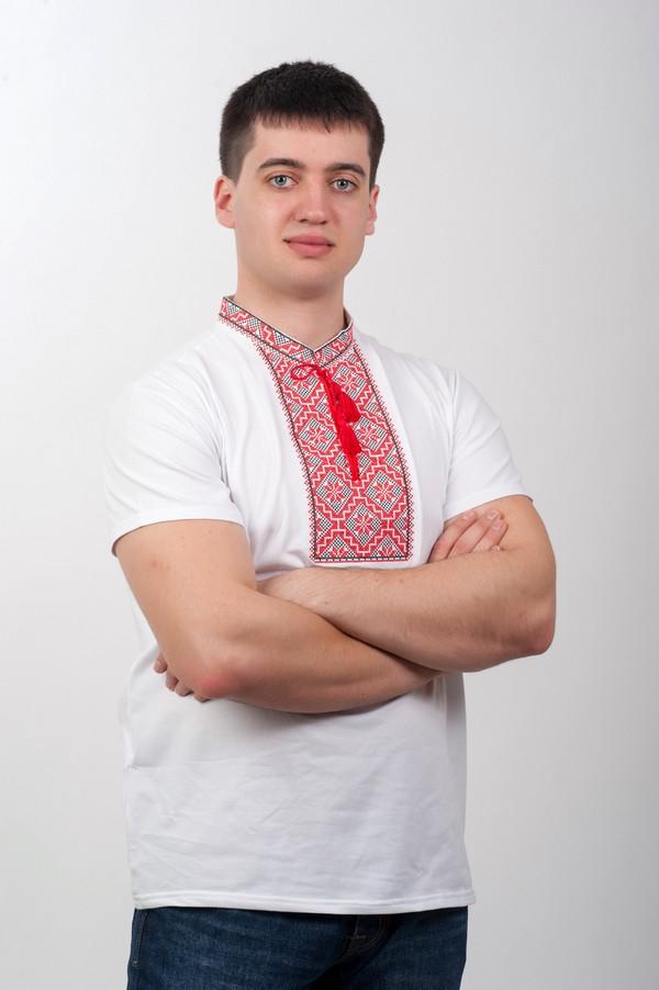 футболка вышиванка мужская