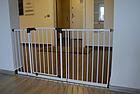 Дитячі ворота безпеки / бар'єр Maxigate для дверного отвору від 133 см до 142 см, фото 2