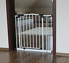 Дитячі ворота безпеки / бар'єр Maxigate для дверного отвору від 133 см до 142 см, фото 5