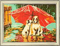 Набор для вышивания бисером Зонтик на двоих БФ 615