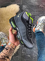 Зимние мужские кроссовки Nike Air Max 95 Sneakerboot Black Volt