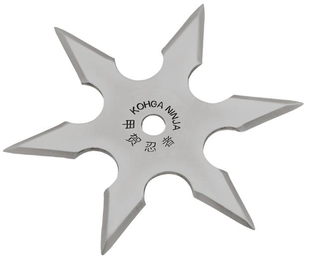Нож - звезда стальная метательный набор 3 шт + чехол, (шестиконечная) иглообразная пластина для метания