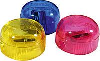 Точилка KUM с контейнером пластиковая круглая 210К Ice