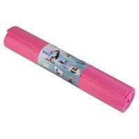 Йогамат, коврик для фитнеса, GreenCamp, 5мм, PVC, розовый. GC611735PVC-1PK