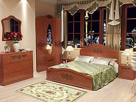 """Меблі в спальню """"Лючія"""" від Неман (горіх)."""