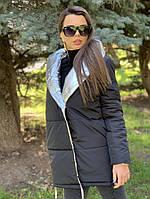 """Куртка женская двухсторонняя зима """"Город"""", фото 1"""