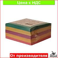 Бумага для заметок Микс, цветная, 85х85мм 400 листов, клееная Ц964061У