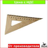 Треугольник деревянный 16 см 30x60 1х100, 103020