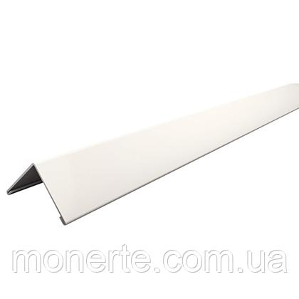 Пристінний L профіль 3000мм білий Армстронг Преміум 0,4мм