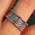 Брендовое серебряное кольцо День-Ночь - Кольцо из серебра без камней, фото 6