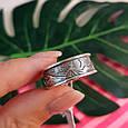 Брендовое серебряное кольцо День-Ночь - Кольцо из серебра без камней, фото 4