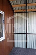 """Мобильный дачный домик """"РЕЛАКС 1-23"""" 22,8м2., на основе цельно-сварного металлического каркаса., фото 2"""