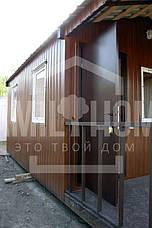 """Мобильный дачный домик """"РЕЛАКС 1-23"""" 22,8м2., на основе цельно-сварного металлического каркаса., фото 3"""