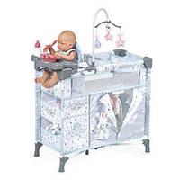 Игровой манеж-кроватка для куклы с аксессуарами 53029
