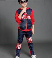 Джинсовый спортивный костюм на мальчика , Д-635-О, фото 1