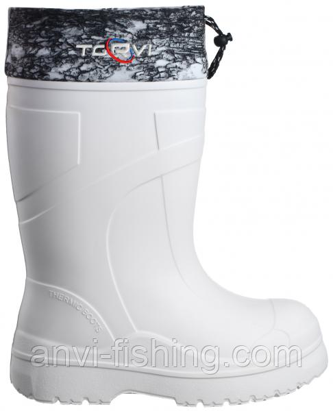 Сапоги для зимней рыбалки и охоты из ЭВА TORVI T -60°C - Белые