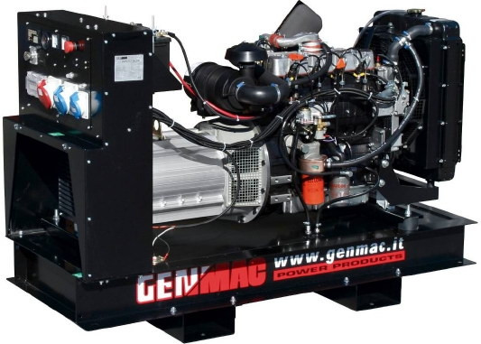 ⚡Genmac DUPLEX G16LOM+AVR (16,7 кВа)