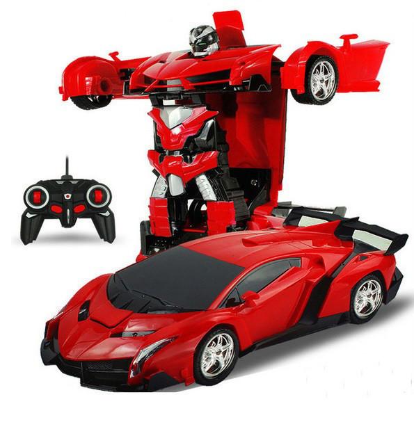 Робот-трансформер Deformation Robot   гоночный автомобиль