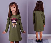 Платье детское LOL хаки