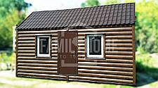 """Мобильный дачный домик """"НИШХАУС 2-18"""" 18м2., на основе цельно-сварного металлического каркаса., фото 3"""