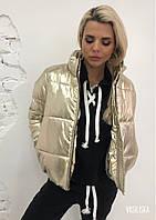 """Куртка женская короткая зима """"Микс"""", фото 1"""
