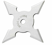 Нож - звезда сталь метательный набор 3 шт + чехол, (фигурная) иглообразная пластина для метания