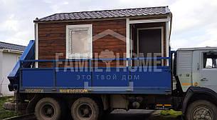 """Мобильный дачный домик """"ГАРДЕНХАУС 1-12"""" 11,3м2., на основе цельно-сварного металлического каркаса., фото 2"""