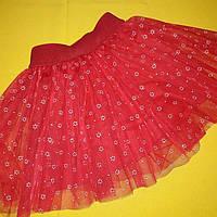 Детская нарядная фатиновая юбка. Размеры 110, 116, 122.