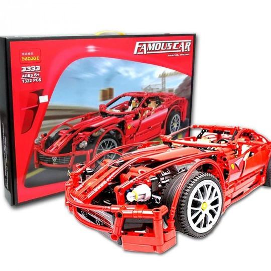 Конструктор Decool Ferrari 599 GTB Fiorano 1322 детали