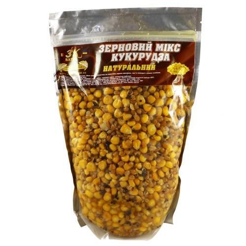 Зерновой МИКС Кукуруза (Мед) 1кг