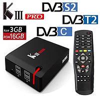 TV Box Mecool KIII Pro 3/16gb Amlogic S912 DVB S2/T2/C Android 7.1 спутниковая Android TV приставка, фото 2