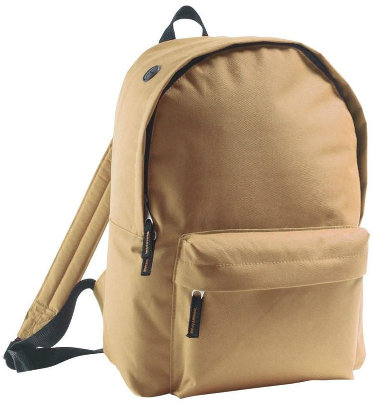 Рюкзак фирмы Rider бежевого цвета