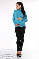 """Узкие брюки для беременных """"Inga"""", черные, фото 1"""