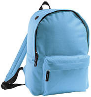 Школьный Рюкзак фирмы Rider голубого цвета