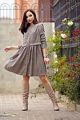 Платье № 1203.1_клетка