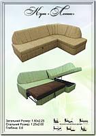 """М'який кутовий диван """"Лотос"""""""