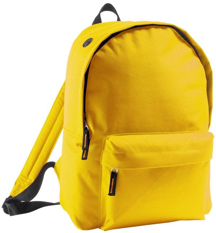 Рюкзак фирмы Rider желтого цвета