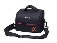 Сумка для камеры Sony α, противоударная фото сумка Сони альфа ( код: IBF033B ), фото 1
