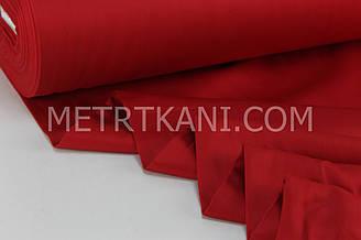Сатин  красного цвета   ширина 240 см № ПС-0003